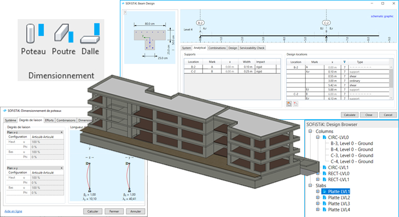 Dimensionnement Revit