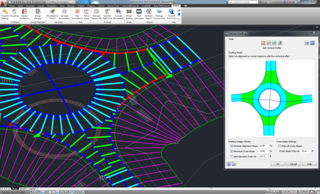 Intégration avec AutoCAD Civil 3d
