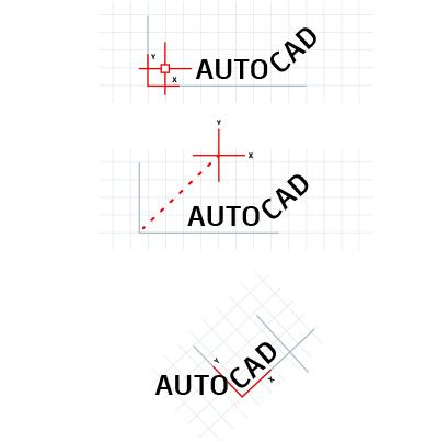 coordonnées utilisateur autocad