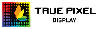 true pixel display logo