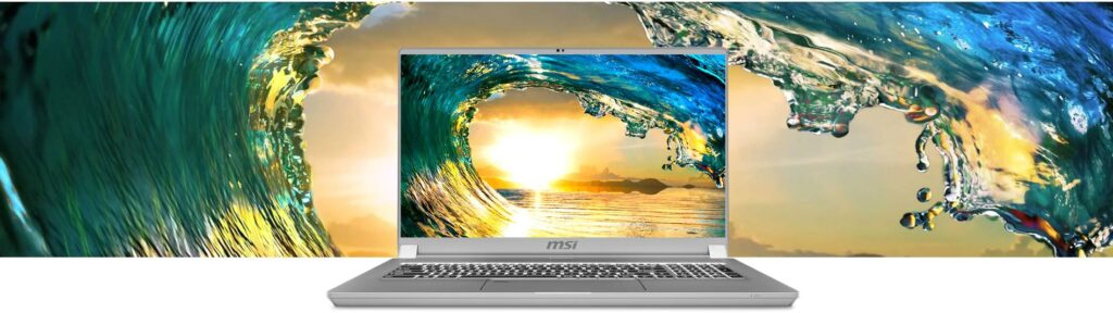 experience visuelle ws 75 msi