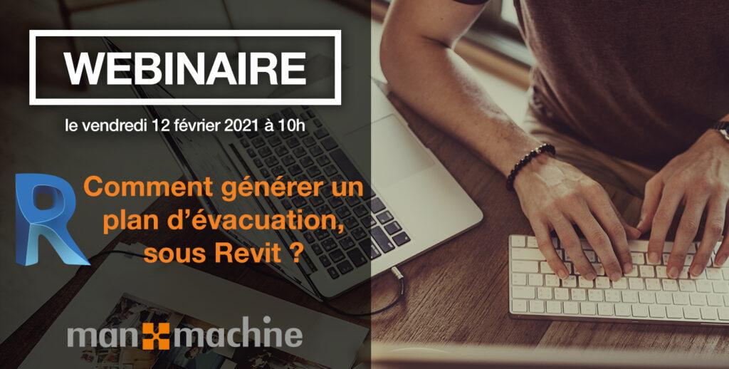 visuel webinaire Revit : générer un plan d'évacuation